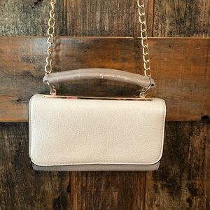 Call it Spring, New, Beige Gold Chain Crossbody